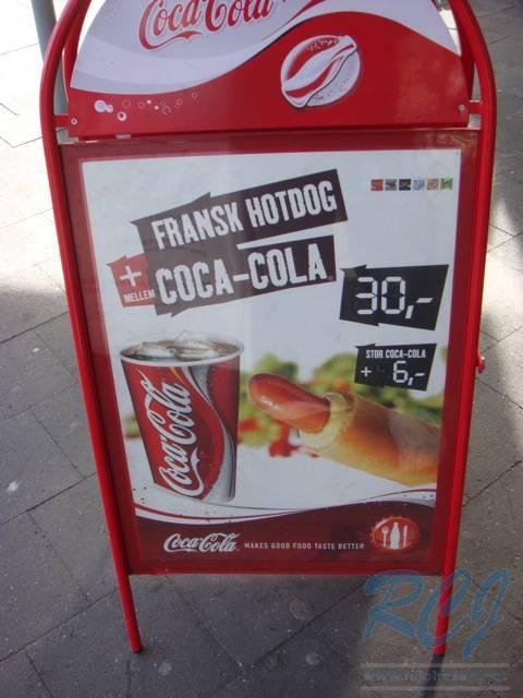 looks like $7 for a hotdog and a coke
